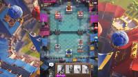皇室战争:超级骑士轻松一跳,拿下对方一座塔
