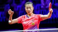 2019世乒赛 穿着弹力裤打球的女子——丁宁