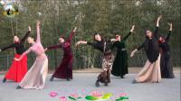 紫竹院广场舞——女人花,好看的形体舞