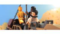 定格动画-乐高版翻拍星球大战第九部天行者崛起非官方预告片