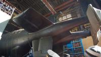 """真来了!实拍俄罗斯最新核潜艇下水现场 搭载""""波塞冬""""核动力鱼雷"""