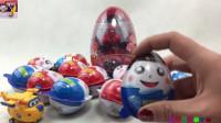 奇趣蛋玩具拆箱视频 超级飞侠小爱多多围观