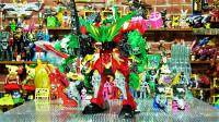 骑士龙战队龙装者 骑士龙系列04DX Tigerlance变形机器人玩具