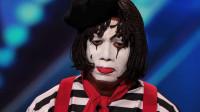 小丑惨被评委4票灭灯,他气急败坏摘下头套后,所有评委瞬间懵了!