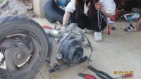 摩托车维修实践操作6(踏板摩托车拆装技术)