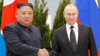 普京与金正恩首度会晤 微笑握手后俩人都说了这句话