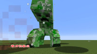 我的世界泰坦生物38:1个苦力怕泰坦VS2个雪傀儡泰坦,谁会胜利?