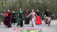 紫竹院广场舞——雪山阿佳,欢快好看的藏族舞蹈