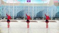 好心情蓝蓝广场舞原创【124】网络流行神曲【都说正背面】附教学