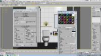 3dmax教程人人都能学3D 114课 室内出图全过程09最终出图