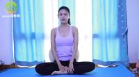 伸展腰部的瑜伽体式—坐姿侧展式瑜伽,能够有效拉伸腰部,消除腰两侧多余的脂肪