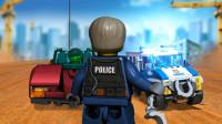乐高城市建造 41期传奇警察抓捕坏蛋 儿童积木玩具游戏