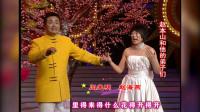 二人转演员闫光明、赵海燕才艺表演,这嘴皮子