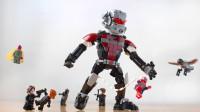 乐高MOC拼装漫威超级英雄巨型蚁人积木
