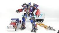 变形金刚KO黑曼巴LS-03超大DOTM升级擎天柱卡车机器人玩具