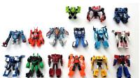 15个变形金刚动漫迷你版汽车人阵营机器人变形玩具