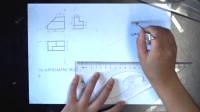 遂宁市职业技术学校《平面立体正等轴测图的画法》 谢芹微课