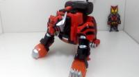 模玩分享兽拳战队DX激气老虎-萝卜吐槽番外