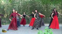 紫竹院广场舞,五一假期嗨起来舞蹈二《月满西楼》