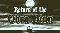一艘不明失踪 又神奇出现的船,究竟藏有什么秘密【Return of the Obra Dinn 奥伯拉丁的归来】
