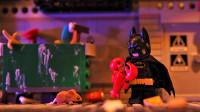定格动画-乐高城市故事之搞笑蝙蝠侠想吃龙虾