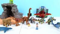定格动画-乐高城市故事之如何正确的组装恐龙玩具