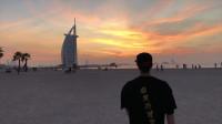 领略不一样的迪拜-中国跑酷环球之旅,阿联酋