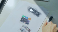 手绘动画 公司LOGO标志展示 AE