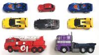 酷炫小汽车玩具变形成机器人