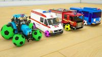 太厉害了,小公交车太友等汽车大集合啦,你最喜欢哪一辆玩具呢?