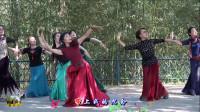 紫竹院广场舞,花开的季节舞蹈一《鸿雁》