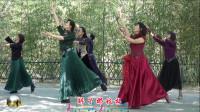 紫竹院广场舞,花开的季节舞蹈三《梅花泪》