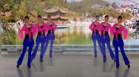 阳光美梅原创广场舞【伤心的站台】形体舞-对跳版-编舞:美梅
