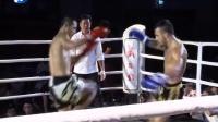 不愧是K-王者魏锐!面对身材健硕的外国拳王,一记膝击瞬间KO对手