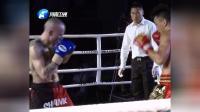 小虎铁英华实力出击!面对外表凶悍的外国拳王,离KO只差一点!