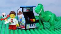 定格动画-乐高城市故事之胡迪进入玩具总动员游戏乐园