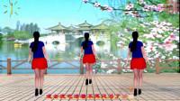 阳光美梅原创广场舞-DJ版《成全我吧》动感健身舞-背面演示-编舞:美梅