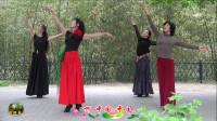 紫竹院广场舞,花开的季节舞蹈六《春天的故事》