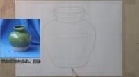 陶罐 构图