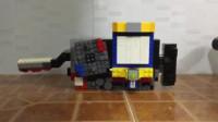 """《假面骑士Build》手工自制积木变身驱动器!""""天才满装瓶罐"""""""