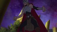 漫威动画:雷神夫妇和奇异博士被洛基碾压