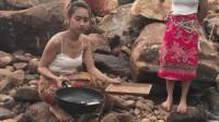中国小伙在越南看到妻子的农村生活,才知道为什么她要到中国打工