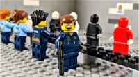 定格动画-乐高城市故事之比利一天的警察体验