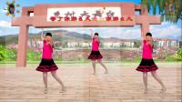阳光美梅广场舞《真的不容易》健身舞