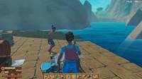 木筏求生:极限生存上岛雾太大只能凭直觉找船