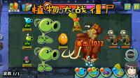植物大战僵尸游戏 原始部落第4关 植物们战胜骑大象僵尸 28