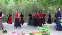 紫竹院广场舞,与香港粉丝共走模特《烟花三月下扬州》