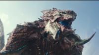 近8000吨的怪兽袭击日本,100米高的机器人都被它撕成碎破,日本危在旦夕!