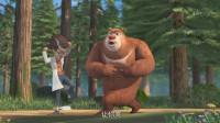 熊出没之探险日记2:天才威和熊大跳舞结果把他自己迷晕了!