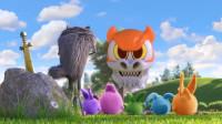 敌人的敌人就是朋友,为了打败终极大Boss,阳光兔兔们与大灰狼合作!